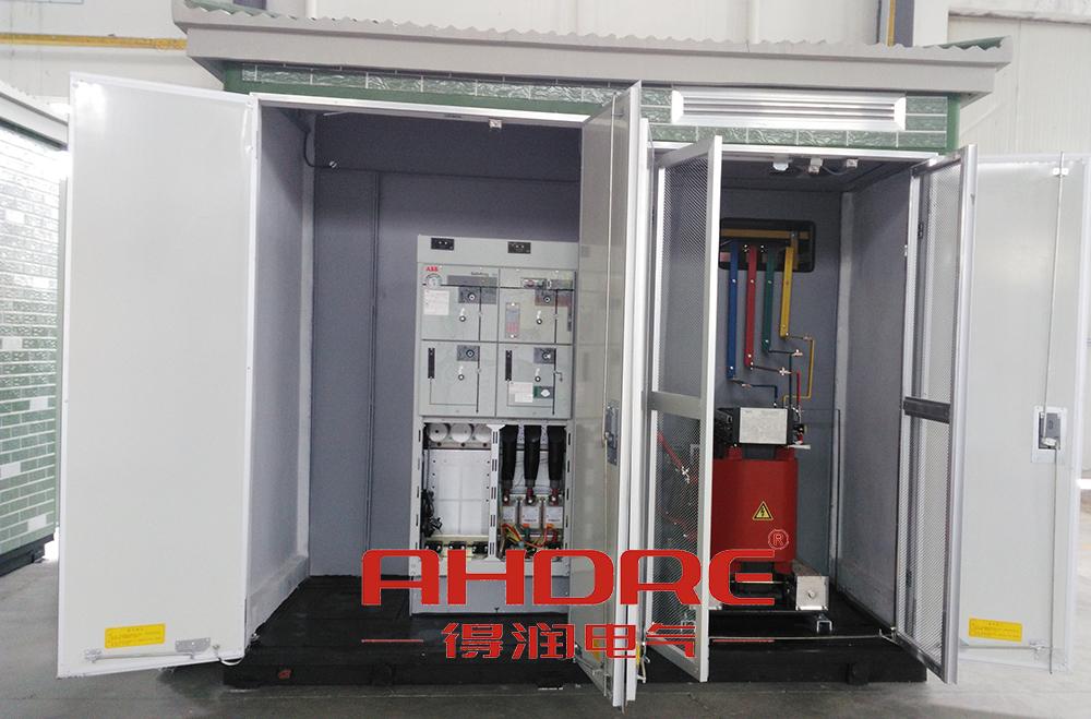 供应得润电气2017定制的组合式箱式变电站图片