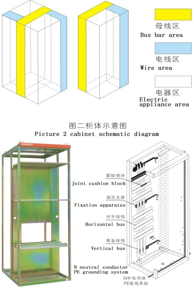 得润电气MNS2.0低压开关柜结构图