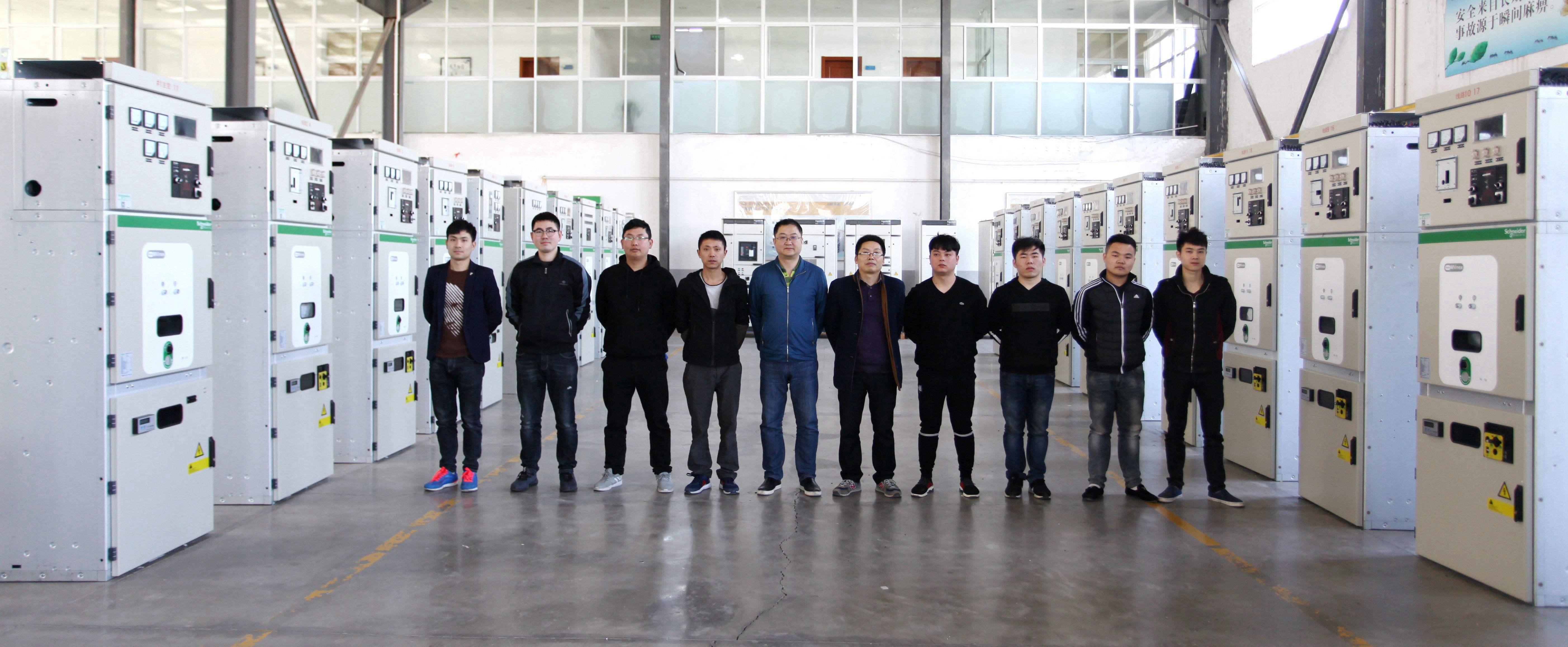 得润电气顺利生产完成江汽集团星瑞齿轮项目Mvnex中压开关柜