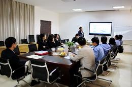 热烈欢迎安徽环新集团有限公司领导一行人莅临我司指导参观
