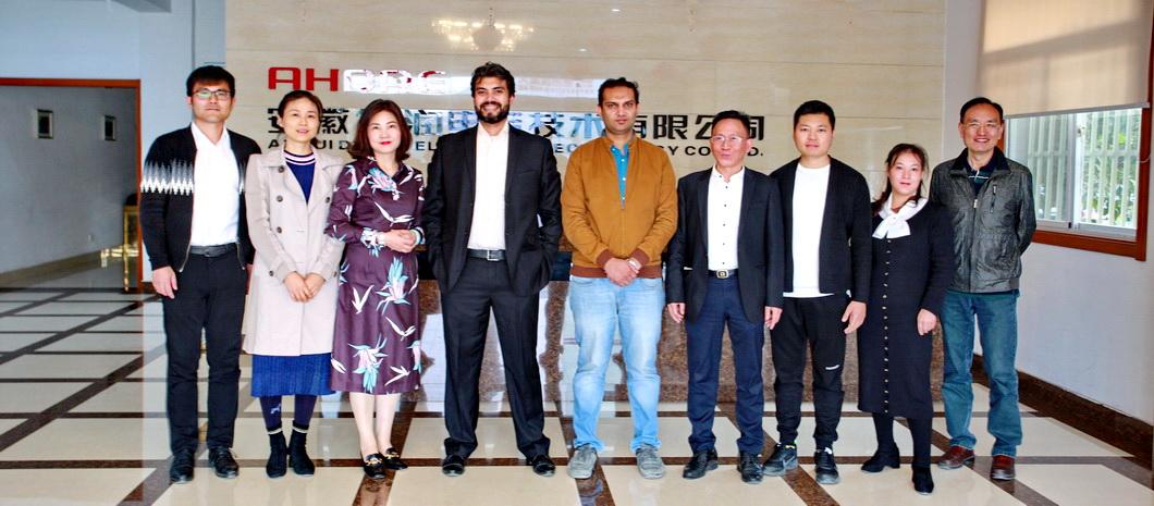 巴基斯坦Descon公司客人莅临得润电气参观考察
