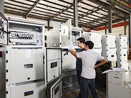 巴基斯坦余热电站项目10KV高压柜调试中