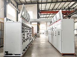 又一批MNS低压配电柜用于骨料机制砂生产线工程