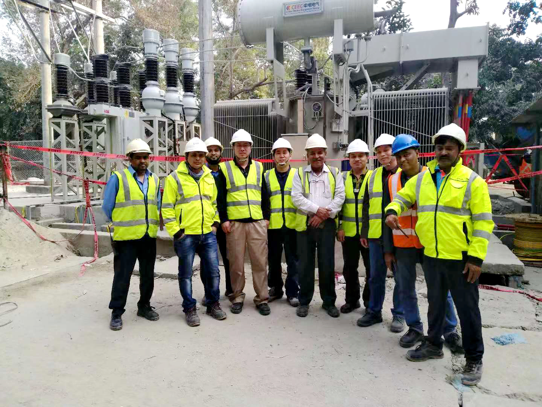 不远千里传来的喜讯---得润电气开关柜孟加拉海德堡发电站送电成功