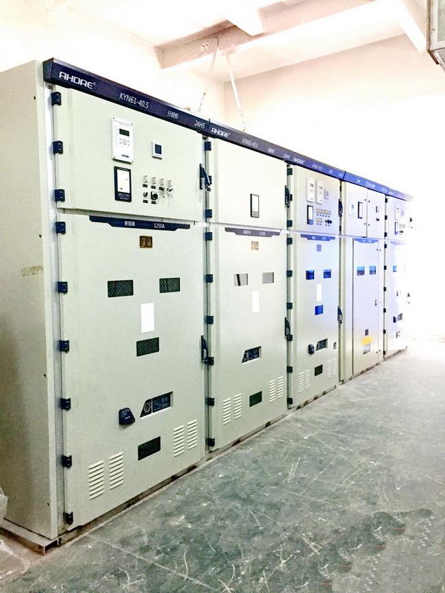 安徽珍珠集团股份水泥有限公司35KV高压柜总降改造工程