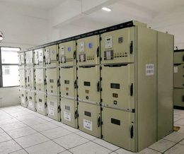 惠州光大水泥磨节能技改项目10KV配电室通电成功